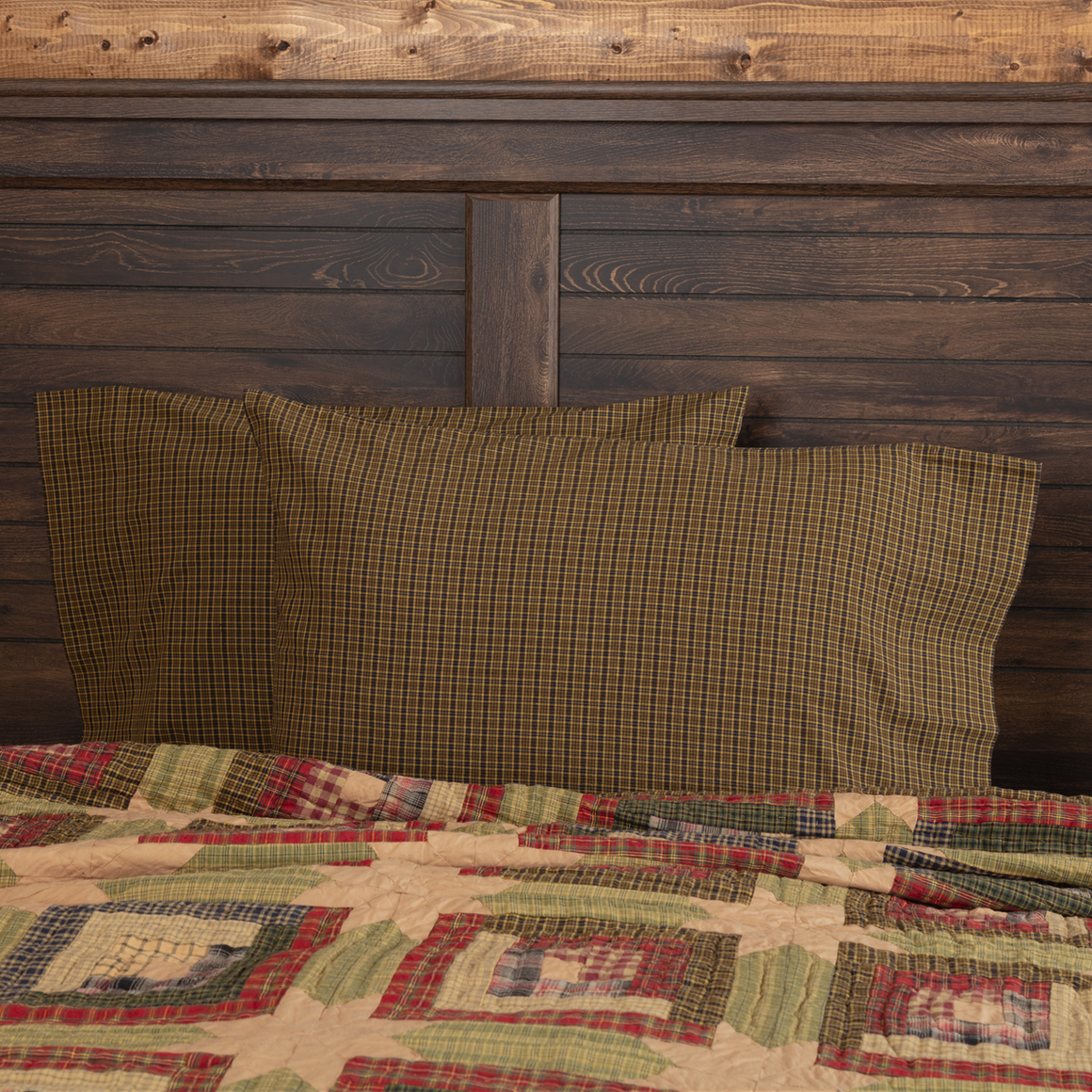 Tea Cabin Pillow Case Set