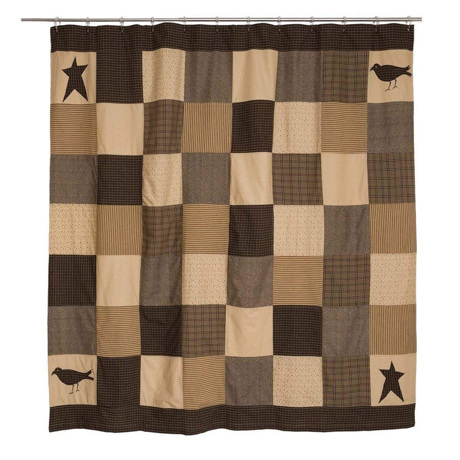 Kettle Grove Patchwork Shower Curtain