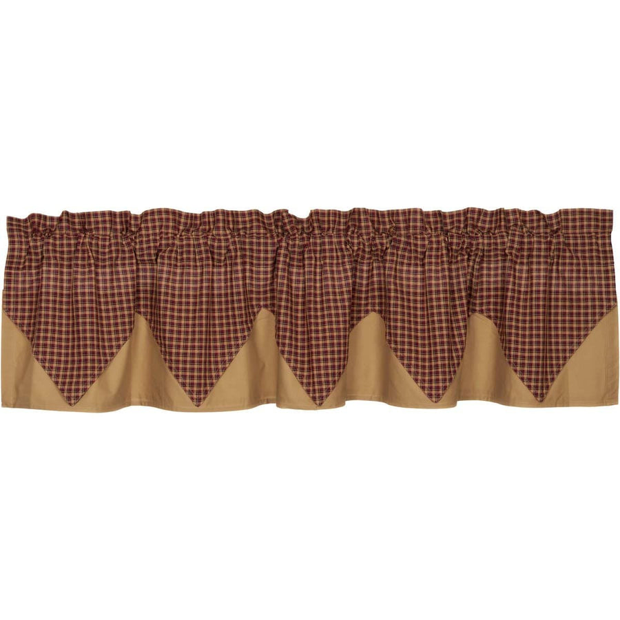 Patriotic Patch Layered Valance