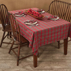 Regal Tartan Plaid Tablecloth
