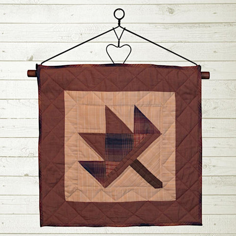 Autumn Leaf Quilt Block by Retro Barn