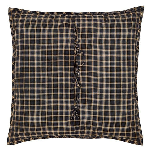 Beckham Fabric Euro Sham - Retro Barn Country Linens - 2