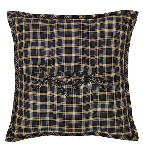 Beckham Fabric Toss Pillow - Retro Barn Country Linens - 2