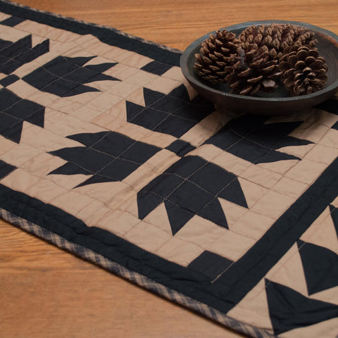 Black Bear's Paw Table Runner