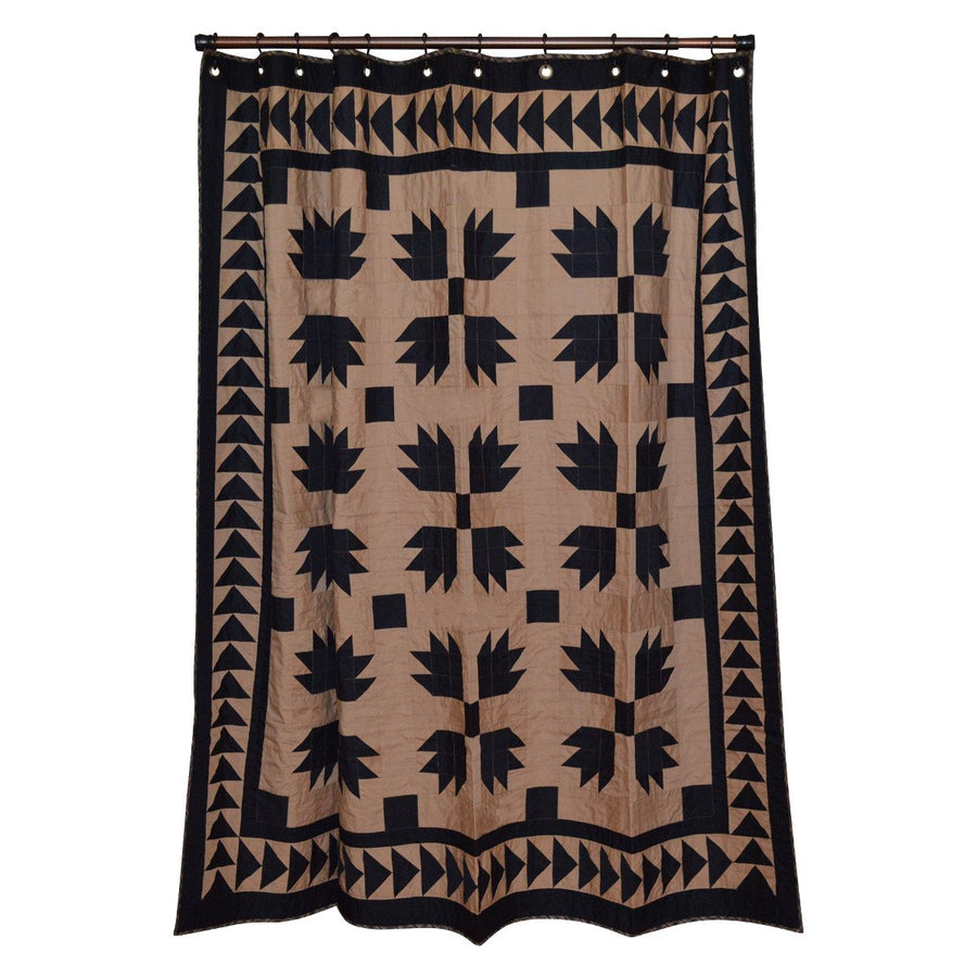 Black Bear's Paw Shower Curtain