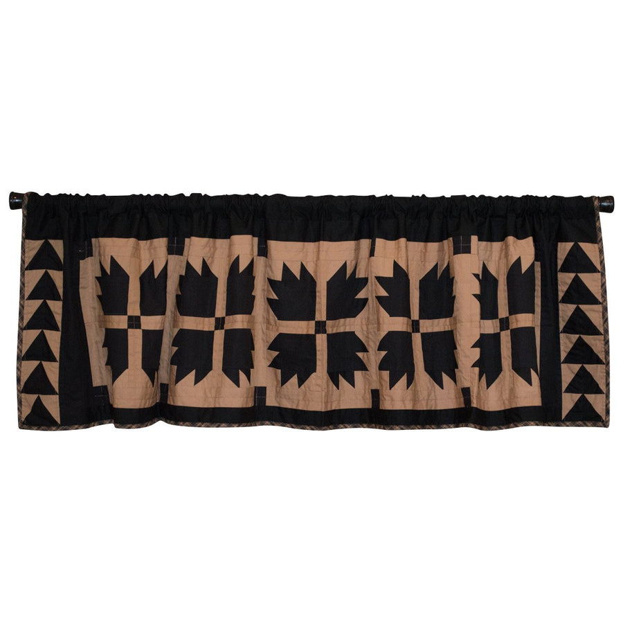 Black Bear's Paw Valance
