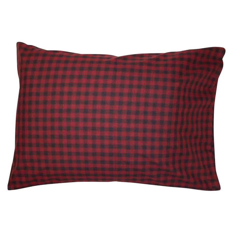 Cabin Check Pillow Case Set