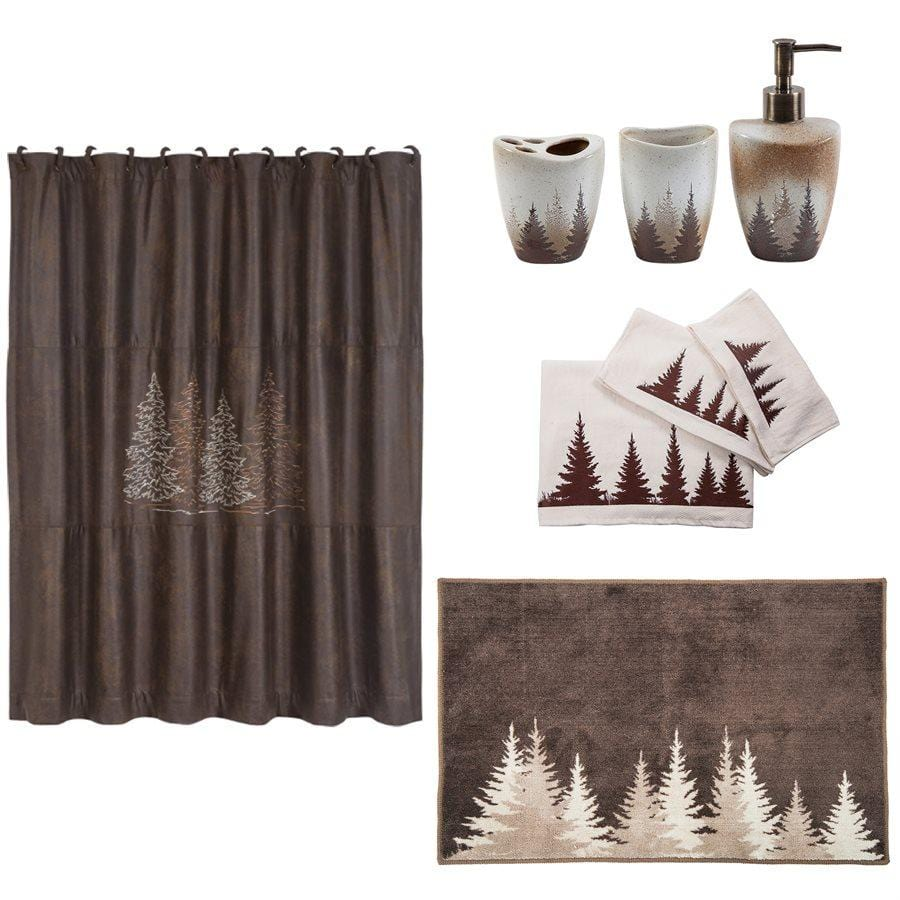 Clearwater Pines Bath Decor Set