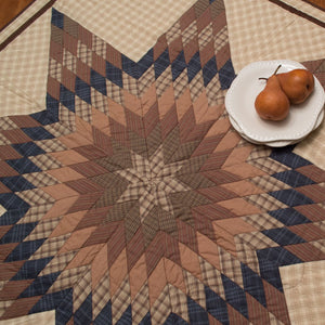 Cody Lone Star Mini Quilt - Table Topper / Wall Hanging