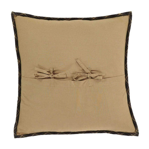 Dakota Star Quilted Pillow - Retro Barn Country Linens - 2