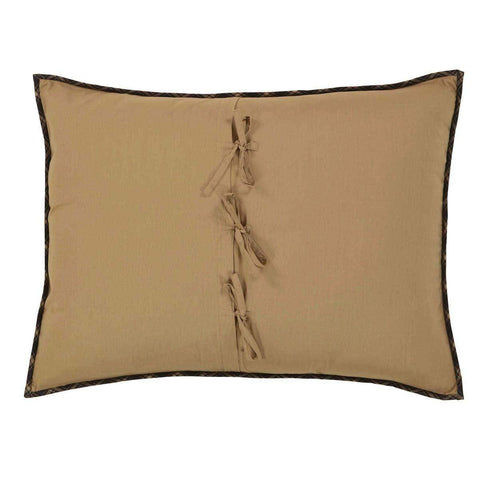 Dakota Star Standard Sham - Retro Barn Country Linens - 2