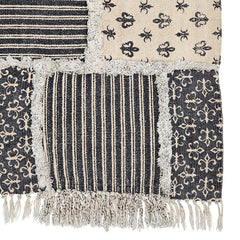 Elysee Patchwork Rug - Retro Barn Country Linens - 1