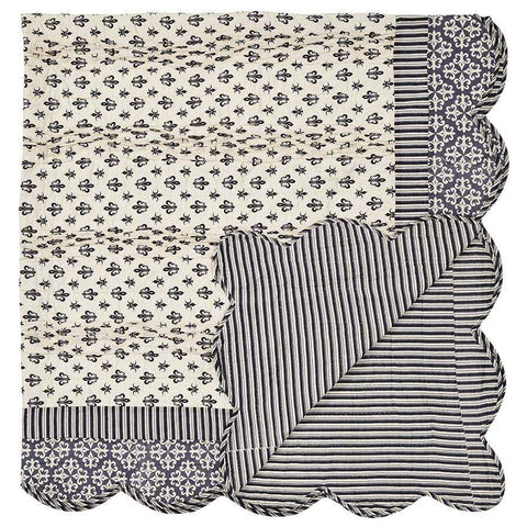 Elysee Quilt - Retro Barn Country Linens - 4