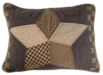 Farmhouse Star Standard Sham - Retro Barn Country Linens