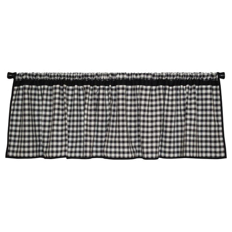 Farmhouse Check Valance by Retro Barn