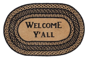 Farmhouse Welcome Y'all Rug