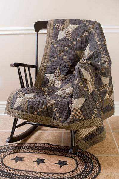 Farmhouse Star Quilted Throw / Wallhanging