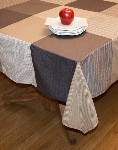 Fieldstone Patchwork Tablecloth