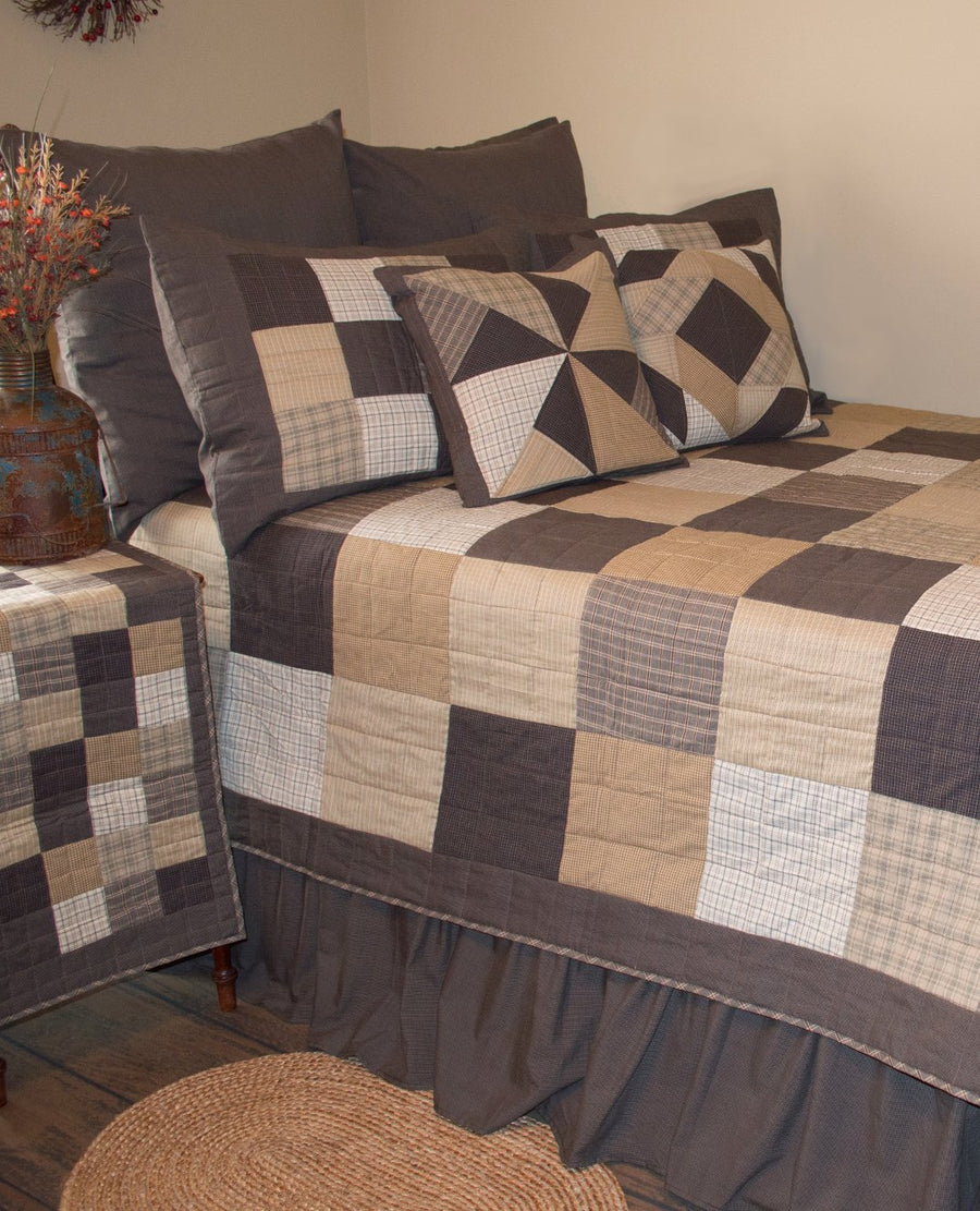 Fieldstone Crazy Square Pillow