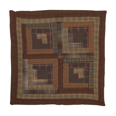 Frontier Log Cabin Pillow by Retro Barn