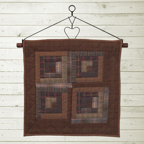 Frontier Log Cabin Quilt Block