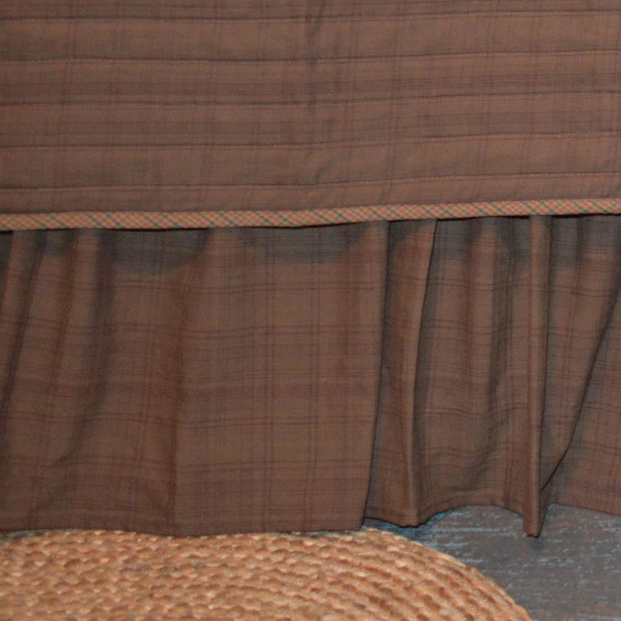 Frontier Plaid Bedskirt