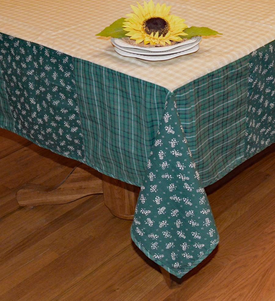 Hannah Patchwork Tablecloth
