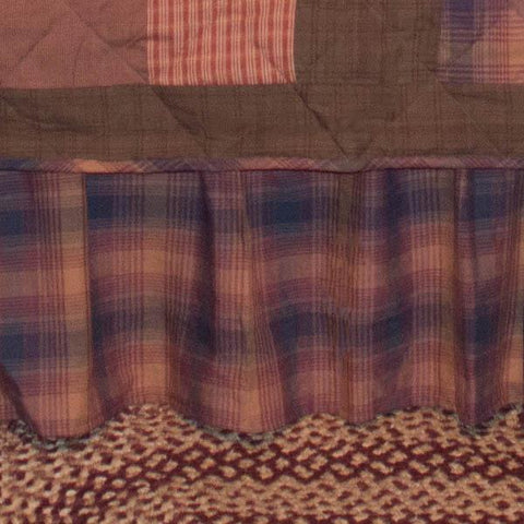 Harvest Plaid Bedskirt