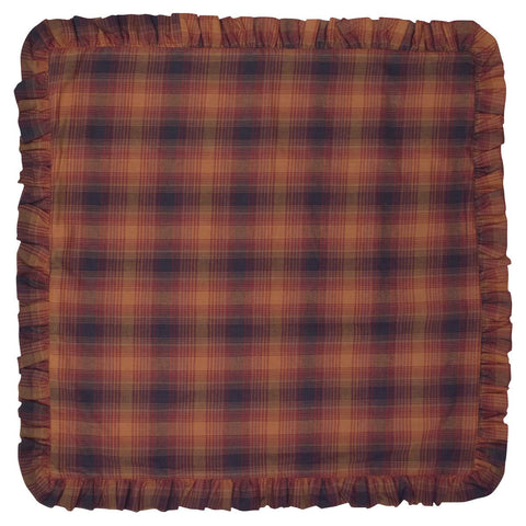 Harvest Plaid Euro Sham