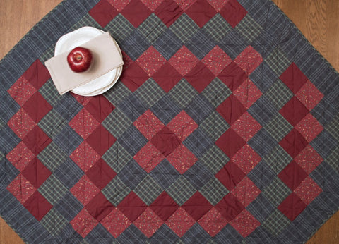 Huckleberry Hill Mini Quilt - Table Topper/ Wall Hanging