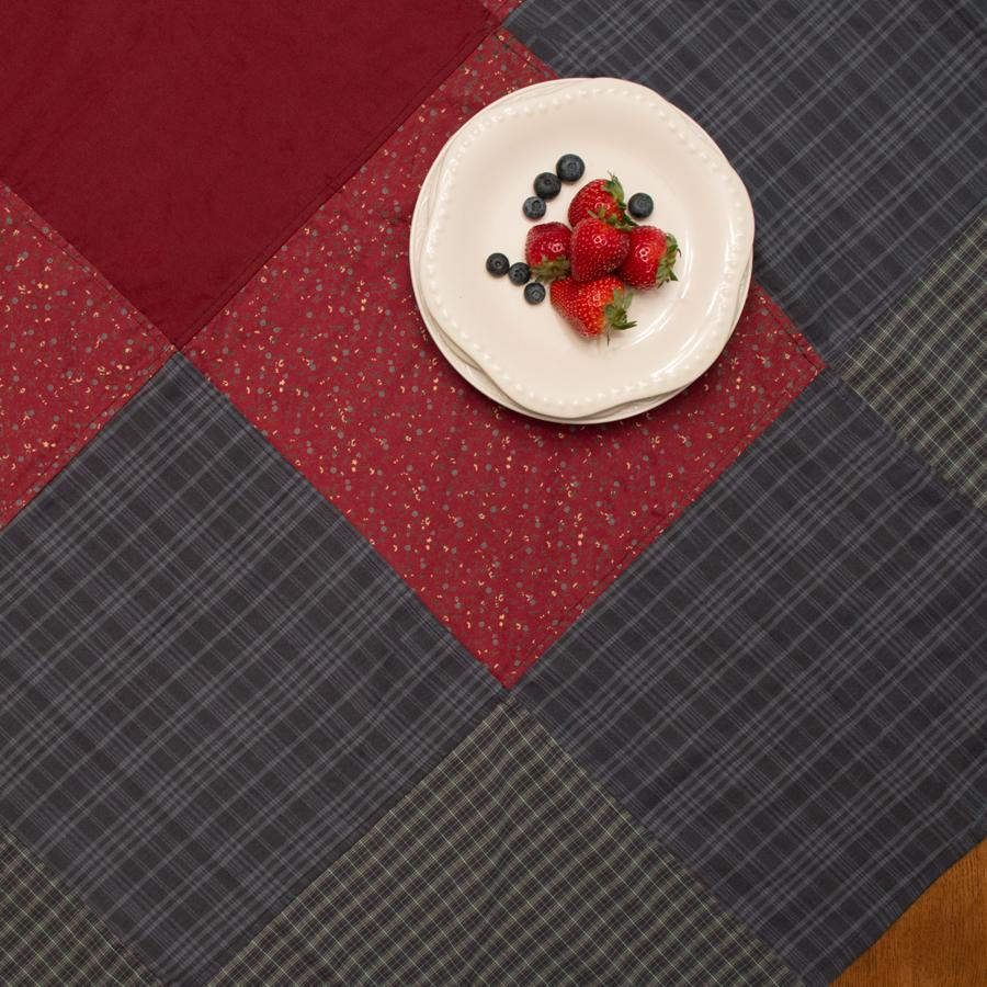 Huckleberry Hill Patchwork Tablecloth