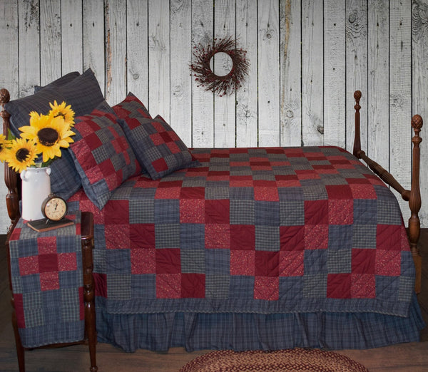 Huckleberry Hill Quilt Retro Barn Country Linens
