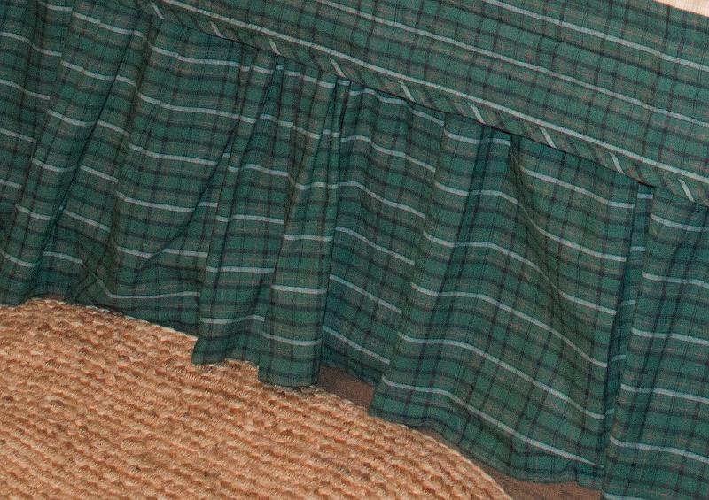Irish Plaid Bedskirt
