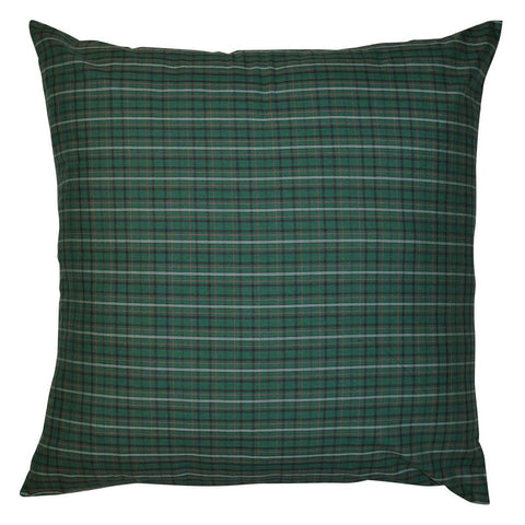Irish Plaid Euro Sham