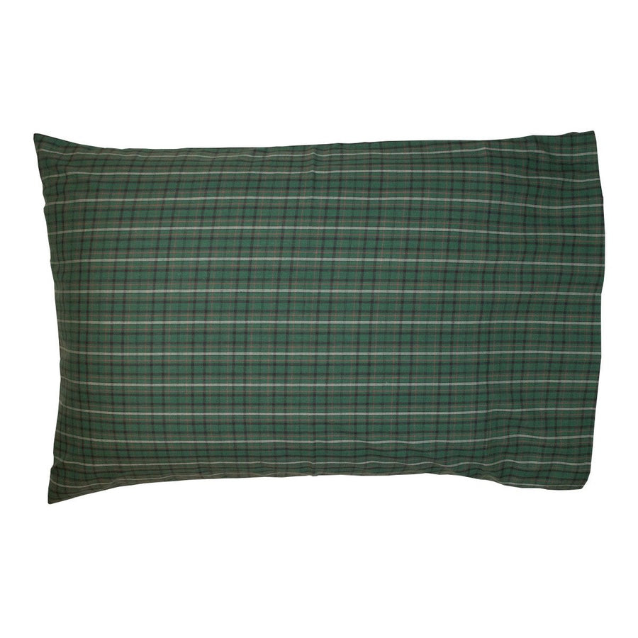 Irish Plaid Pillow Case Set