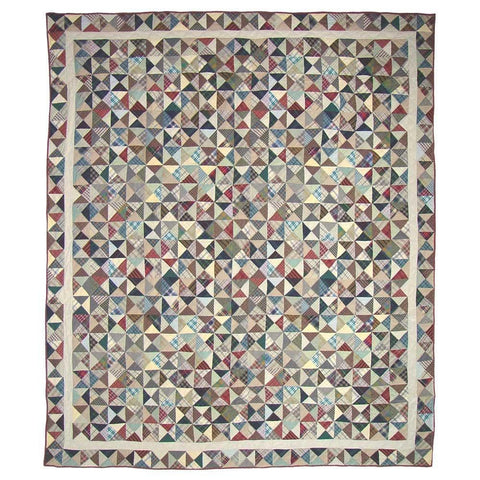 Kaleidoscope Quilt - Retro Barn Country Linens - 2