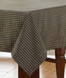 Kettle Grove Square Tablecloth - Retro Barn Country Linens - 1