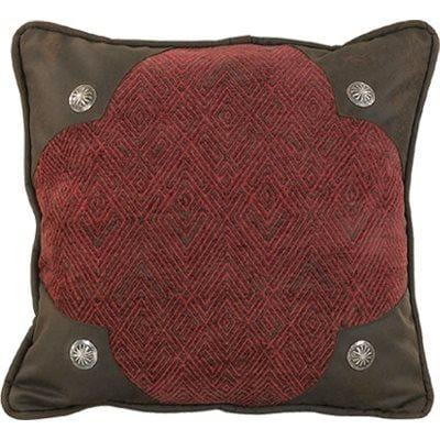 Wilderness Ridge Scalloped Chenille Pillow
