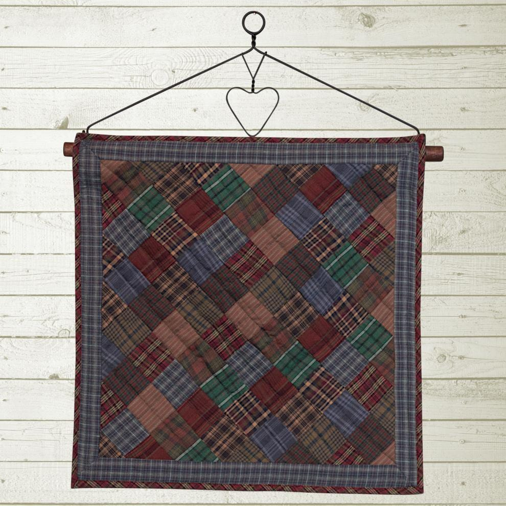 Lincoln Plaid Quilt Block