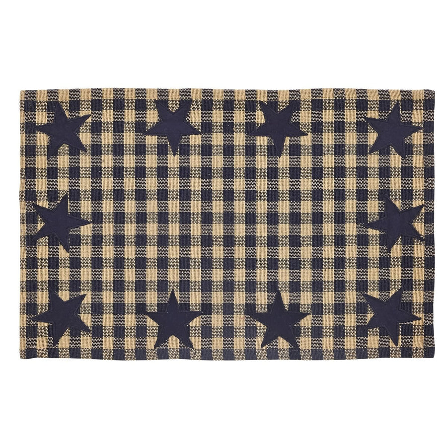 Navy Star Placemat Set of 6