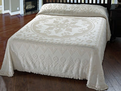 New England Tradition Bedspread - Retro Barn Country Linens - 1