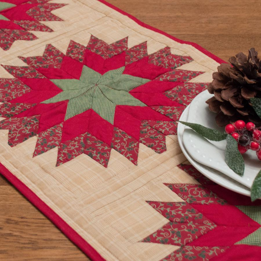 Treasured Star Table Runner