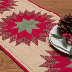 Treasured Star Table Runner by Retro Barn