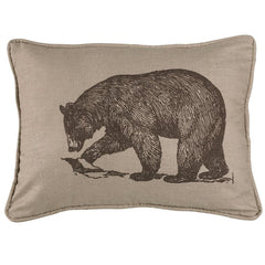 Walking Bear Pillow - Retro Barn Country Linens