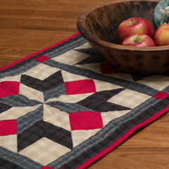 Patriot Star Table Runner by Retro Barn