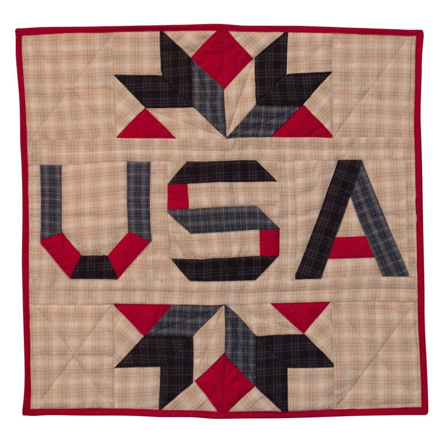 Patriot Star USA Quilt Block