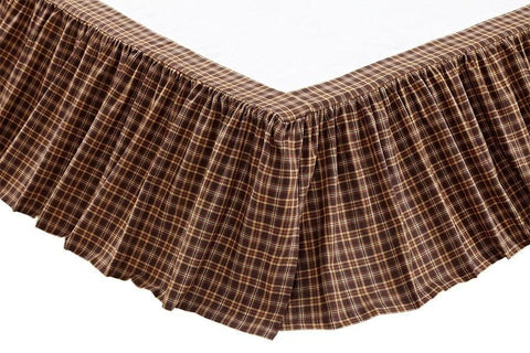"Prescott Bedskirt 16"" - Retro Barn Country Linens"