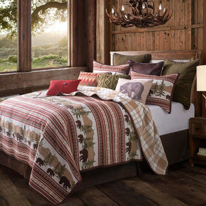 Bear Trail Quilt Set