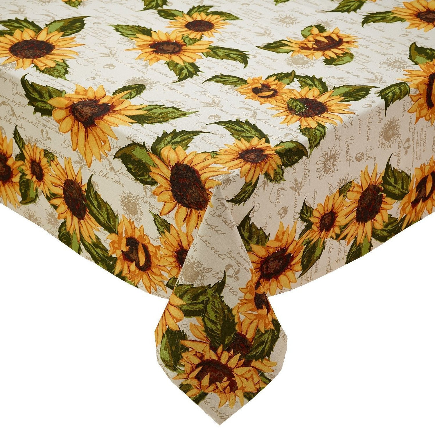 Rustic Sunflower Tablecloth Retro Barn Country Linens