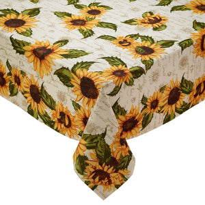 Rustic Sunflower Tablecloth